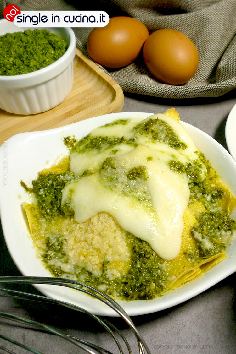crepes pesto e robiola