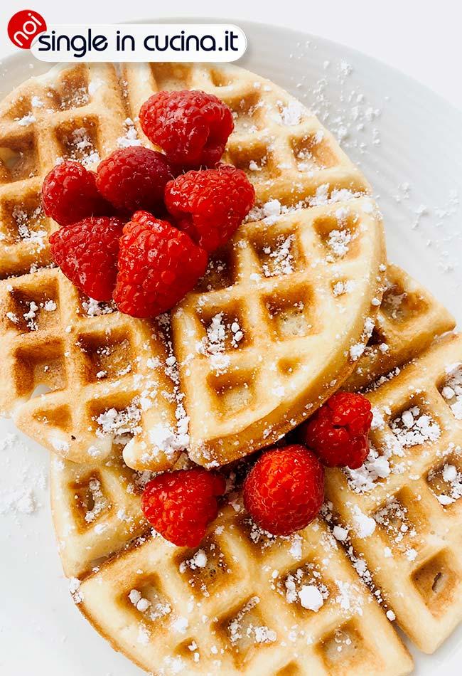 waffle-fragola