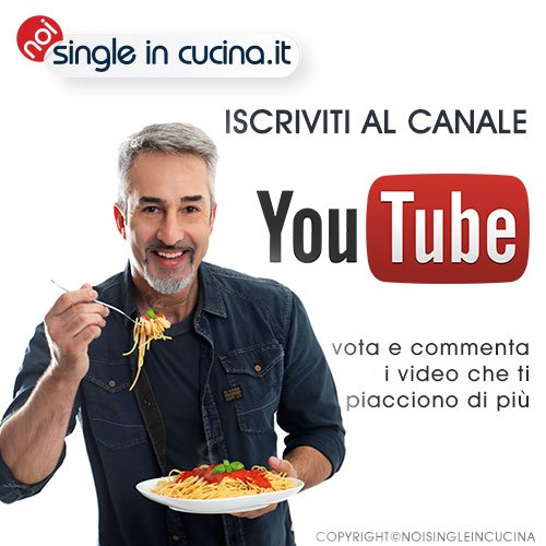 noi single in cucina youtube